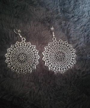 Schmuckrausch Orecchino a pendente argento-grigio chiaro