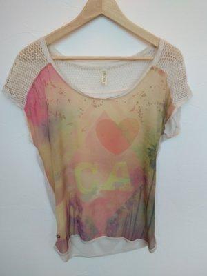 Hippie Shirt mit Netzärmeln (S, edc)