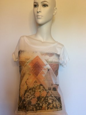 Hippie-Sommer-T-Shirt mit Print