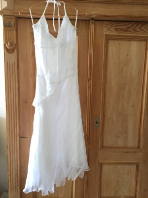 Hippie Dress white cotton