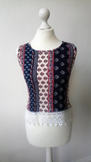 Crochet Top multicolored