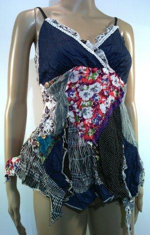 Hippie Zipfel Top, ideal zu Jeans, M 38/40 von DY DESIGN