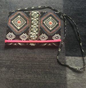 Hippieclutch/-crossbodytasche mit Aztekenmuster