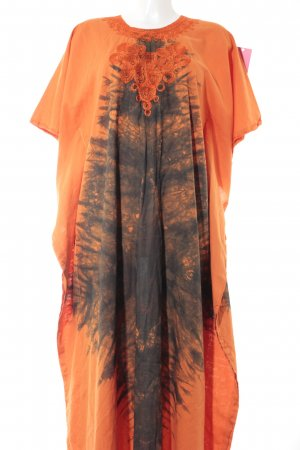 Caftan abstract pattern Gypsy style