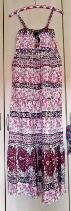 Hippie Dress multicolored mixture fibre