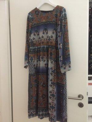 Zara Trafaluc Robe Hippie brun