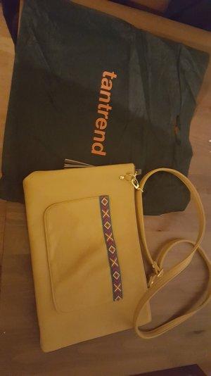 Handtas geel