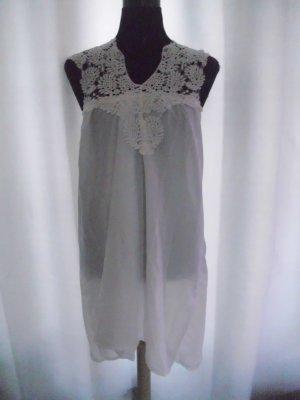 Hippy-Kleid 14614 in weiß Größe M = 38