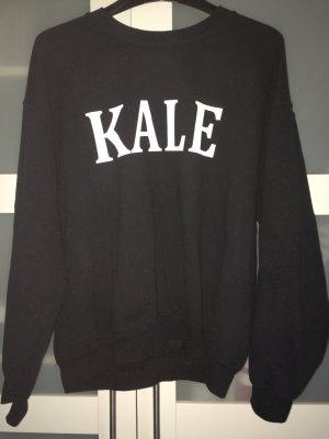 Hipster Kale Sweater (schwarz)