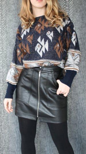 Hipster Winterpullover Azteken Print Blogger Style