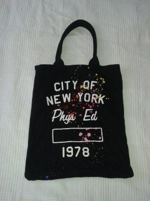 Hipsterbeutel schwarz New York