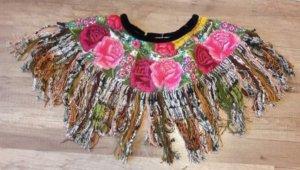 Hiptipico Kragen Mexiko Style Frieda Kahlo Ethno Hippie Boho Festival Indie
