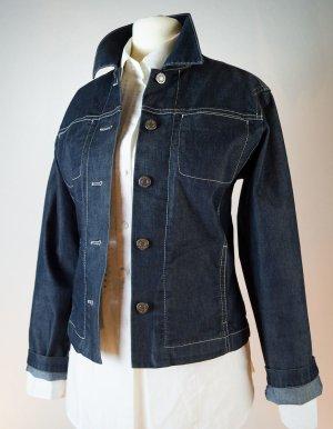 Hirsch -Jeansjacke, dunkelblau, unisex, Cult-Label, Desinger-Jeans, neu
