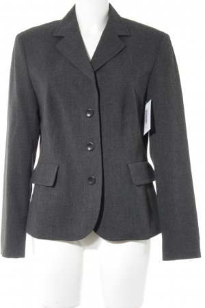 Hirsch Kurz-Blazer anthrazit Business-Look