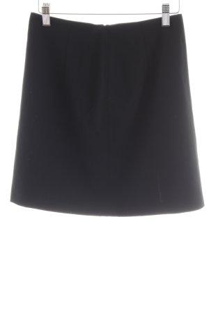 Hirsch Minirock schwarz schlichter Stil