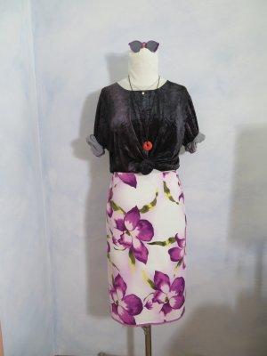 Hirsch High Waist Skirt multicolored cotton