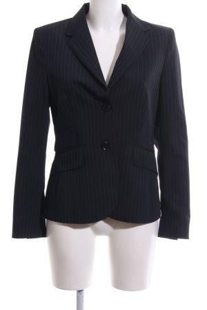 Hirsch Tuxedo Blazer black-light grey striped pattern business style