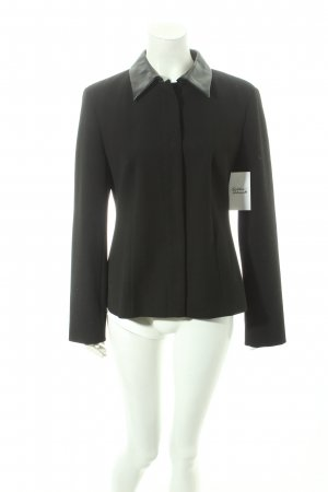 Hirsch Sweatblazer schwarz Business-Look