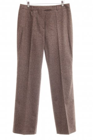 Hirsch Wollhose hellbraun meliert Business-Look