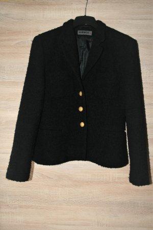 Hirsch Wool Jacket black-gold-colored wool