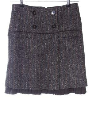 Hirsch Falda de lana gris claro moteado estilo «business»