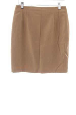 Hirsch Gonna di lana marrone chiaro stile professionale