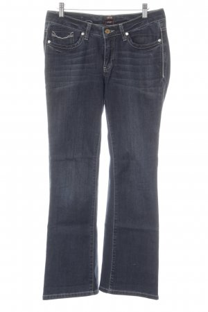 His Boot Cut Jeans dunkelblau Casual-Look