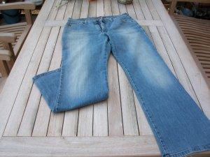 His Jeans bootcut bleu acier