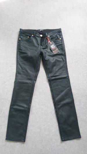 HIS Jeans in Leder-Optik