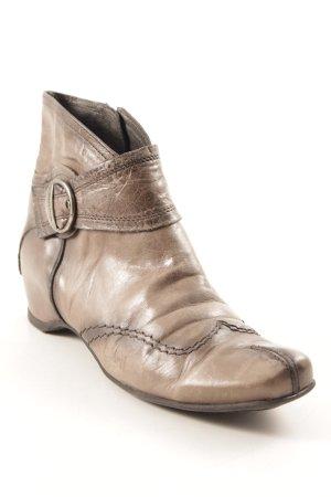 Hispanitas Reißverschluss-Stiefeletten grau Casual-Look