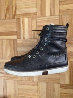 Hitop-Sneaker mit Lammfell 39 REHAB