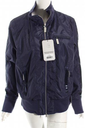 HKM Sports Equipment Sportjacke dunkelblau Casual-Look