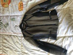 Hm blazer jacke khaki grün schwarz