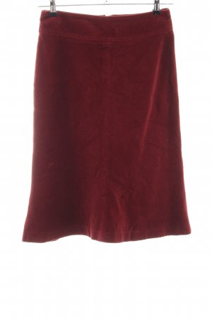 HM Godet Skirt red casual look