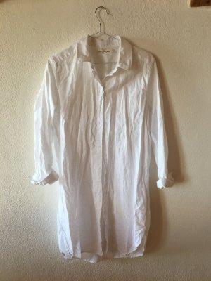 HM Hemdkleid, Leinen, weiß, Gr. 36