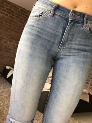 Hm Jeans Slim Mid Waist Stretch 26