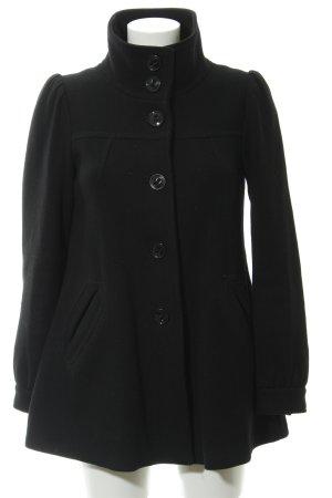 HM Manteau court noir style décontracté