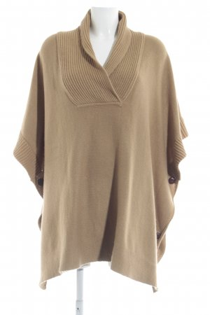 HM Strickponcho camel Casual-Look