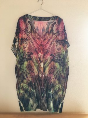H&M Robe t-shirt multicolore
