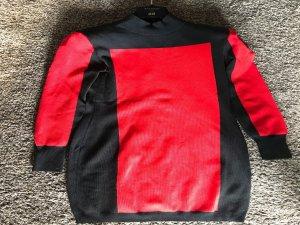 Balmain for H&M Jurk zwart-rood