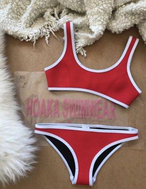 Hoaka Bikini Waikiki - Red Set
