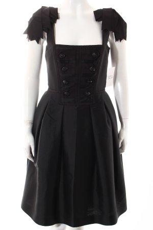 Hobbs Abendkleid schwarz extravaganter Stil