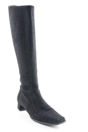 Vigneron Absatz Stiefel schwarz klassischer Stil