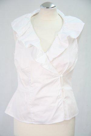 Hobbs Bluse in Weiß 100% Baumwolle