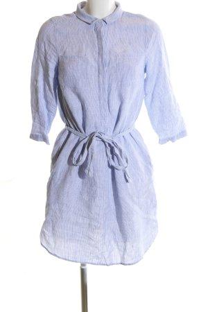 Hobbs Blusenkleid blau Streifenmuster Casual-Look