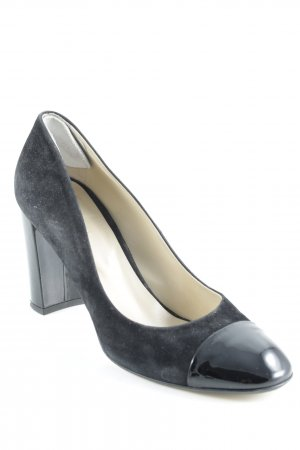 Hobbs High Heels black leather-look