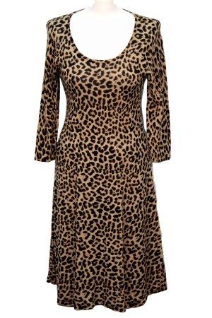 Hobbs Kleid mit Tierprint aus Wolle