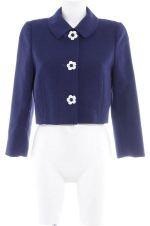 Hobbs Kurz-Blazer weiß-dunkelblau Street-Fashion-Look