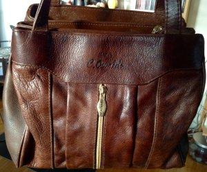 Hobos brown-grey brown imitation leather