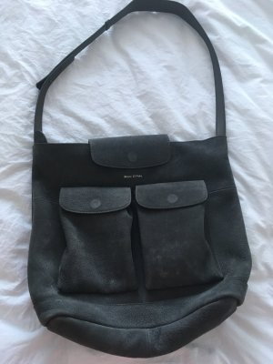 Marc O'Polo Bolso business gris Cuero